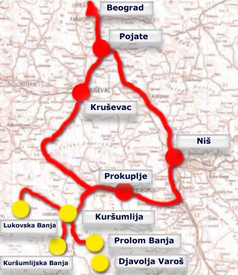 lukovska banja mapa Mapa | Lukovska Banja lukovska banja mapa